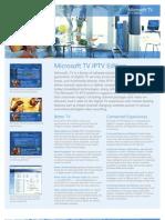 IPTVDatasheet - MicroSoft