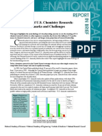 The Future of U.S. Chemistry, Report In Brief