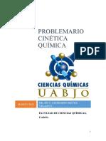 PROBLEMAS DE CINÉTICA QUIMICA
