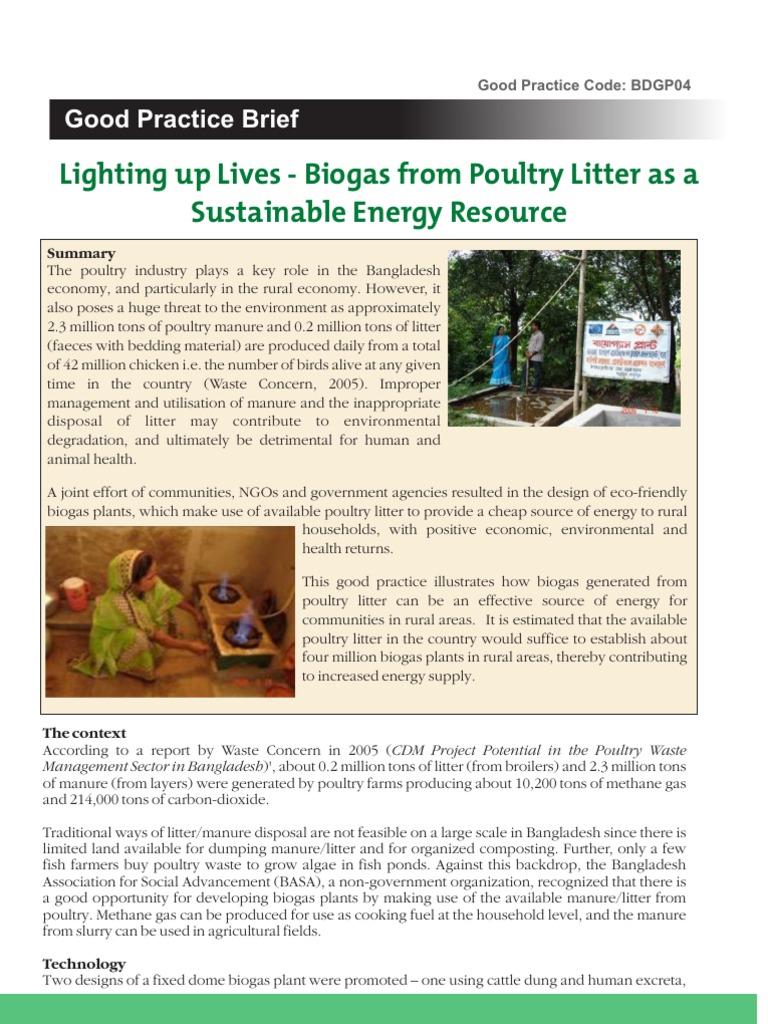 Biogas waste concern | Biogas | Anaerobic Digestion