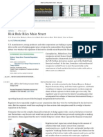 2011-04-13 Risk Rule Riles Main Street - WSJ