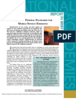State and Federal Standards for Mobile Source Emissions, Report In Brief