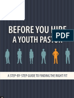 Before You Hire a Youth Pastor Preview