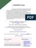 Celtx French Wiki