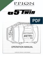 G5Twin Manual