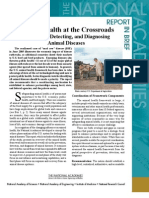 Animal Health at the Crossroads, Report in Brief