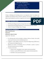 Satyadev Resume