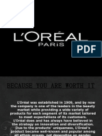 loreal global brand local knowledge