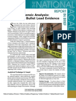Forensic Analysis, Report in Brief