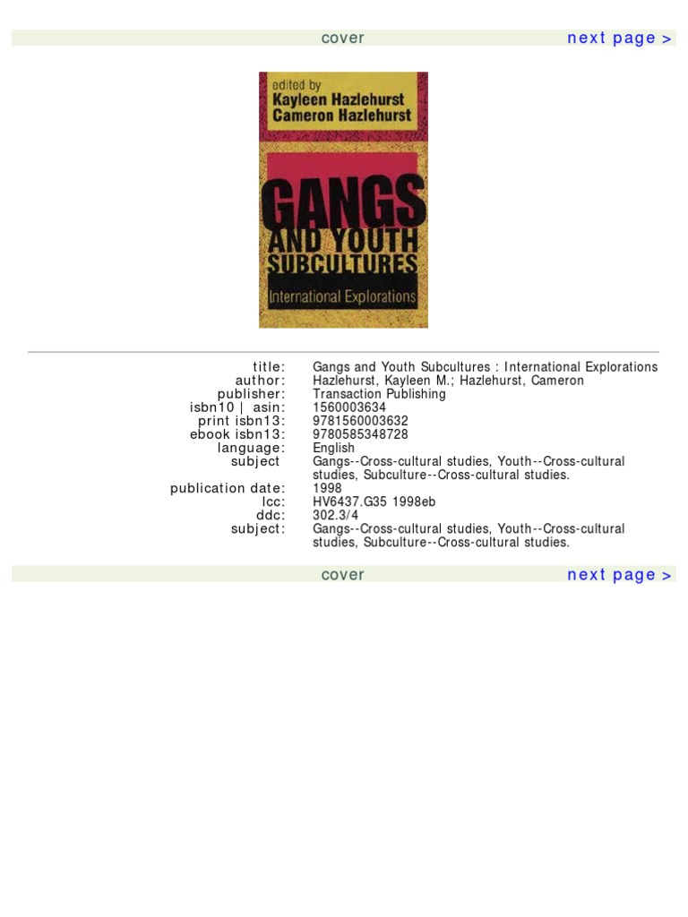 Gangs and youth subcultures gang organized crime fandeluxe Images
