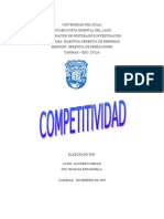 Competitividad Gerencia de Operaciones II