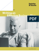 Deloitte_writing business plan