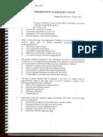 Comprehensive Pathology Exam
