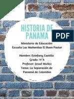 Estefany Castillo 11°A La Separación de Panamá de Colombia