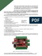 Manual Datasheet Interface Placa Controladora CNC Usb Nvum Sk 4 Eixos Mach3