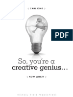 So You're a Creative Genius Now What - PDF Sample