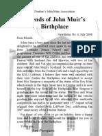 FoJMB Newsletter 2008 07