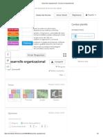 Desarrollo organizacional - Une las correspondencias
