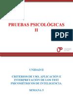 Clase 5 Pruebas Psicológicas II 2018 3