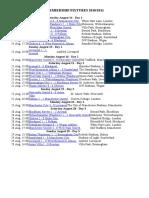 PREMIERSHIP FIXTURES 2010