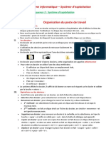 9 Organisation Du Poste de Travail Bureau