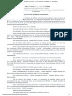 PAUTA DA 285ª SESSÃO DE JULGAMENTO - PAUTA DA 285ª SESSÃO DE JULGAMENTO - DOU - Imprensa Nacional