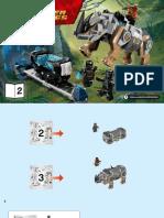 Manual Lego Pantera Negra