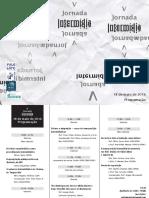 Folder V Jornada Intermidia 2016