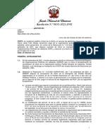 Resolución 0851-2021-JNE. Partido Morado