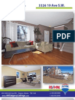 3326 19 Ave Sw Feature Sheet