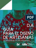Guia Para Diseno Artesanal UDI