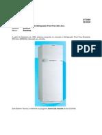 Manual de serviços refrigerador Brastemp frost free Brm33