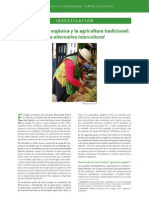 13. A. Investigación. La agricultura orgánica y la agricultura tradicional… Andrea Madrid Tamayo