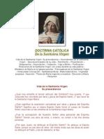 DOCTRINA CATÓLICA DE LA VIRGEN.