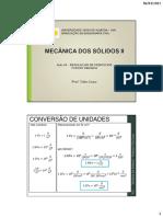 MECÂNICA DOS SÓLIDOS II (AULA 05)_ RESOLUÇÃO DE EXERCÍCIOS_FLEXÃO OBLÍQUA_PARTE 02-2
