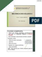 MECÂNICA DOS SÓLIDOS II (AULA 06)_FLEXÃO COMPOSTA-2
