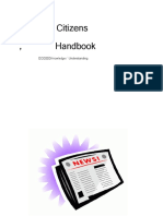 Citizens handbook cover pages