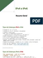 CON07 - IPv4 e IPv6 (Resumo Geral)