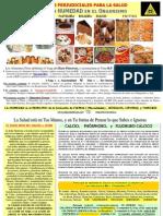 Alimentos Perjudiciales para la Salud