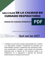 indicadores de calidad en UCIP