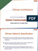 Mobile Wimax Network Architecture