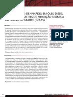 digestion de amiostras- vanadio