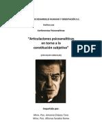 Conferencias Psicoanalíticas