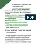Reglamento del Decreto Legislativo Nº 1439, Decreto Legislativo del Sistema Nacional de Abastecimiento