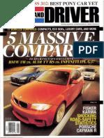 2011-Car and Driver-Fisker Karma (May)