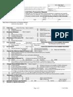 V167 - Life Policy Transaction Form - Multi-Purpose