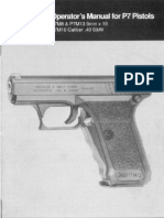 HK Pistol P7M8 P7M10 P7M13 Operators Manual