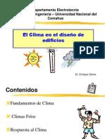 Presentacion - El Clima en el diseño de edificios