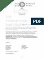 IBEW 332 Notice to All Members