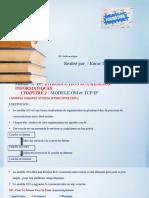 MODELE OSI et TCPIP